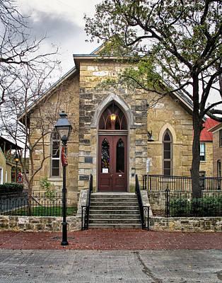 Little Church At La Villita  Print by David and Carol Kelly