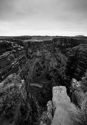 Little Colorado River In Black And White Original by Jerome Obille