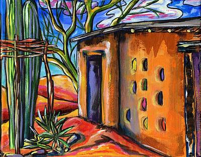 Galleries In Arizona Painting - Little Gallery by Alexandria Winslow