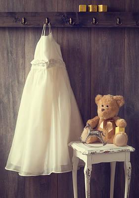 Teddie Photograph - Little Girls Bedroom by Amanda Elwell