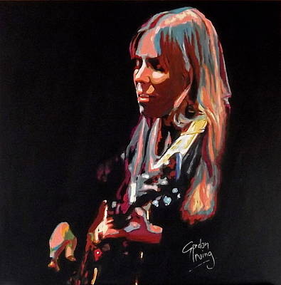 Joni Mitchell Painting - Little Green by Gordon Irving