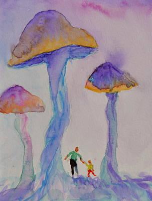 Little People Print by Beverley Harper Tinsley