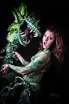 Body Paint Photograph - Little Shop Of Horrors by David April