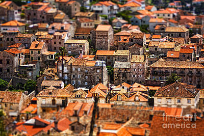 Birds Eye View Photograph - Little Village by Andrew Paranavitana