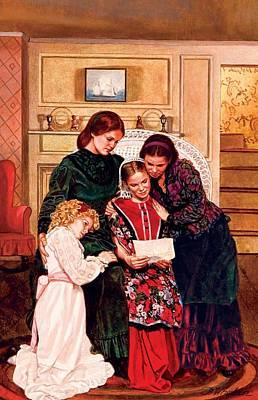 Little Women Print by Patrick Whelan