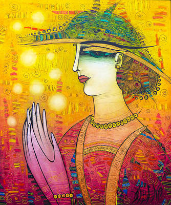 Painting - Little Wonders Are Around Us by Albena Vatcheva