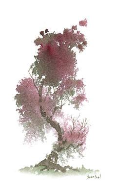 Little Zen Tree 1117 Print by Sean Seal
