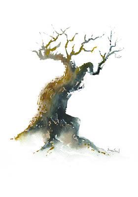 Little Zen Tree 1582 Print by Sean Seal