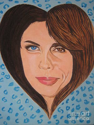 Steven Tyler Painting - Liv And Steven Tyler Painting by Jeepee Aero