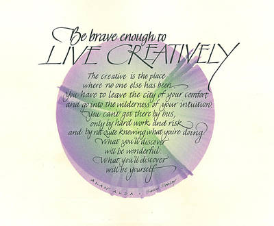 Live Creatively Original by Sally Penley