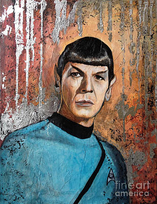 Star Trek Painting - Live Long And Prosper by Dori Hartley