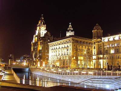 Scouse Photograph - Liverpool Graces And Canal by Steve Kearns