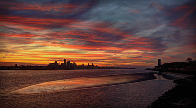 Liverpool Skyline Print by Peter OReilly