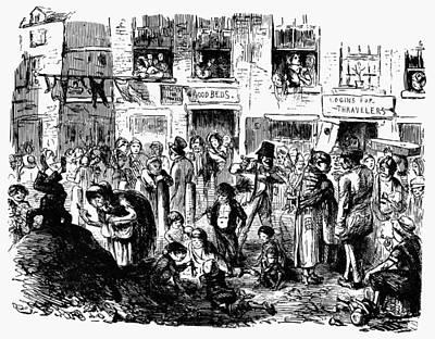 Liverpool Slum, C1840 Print by Granger
