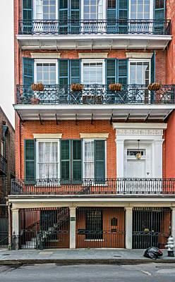 Living High In The French Quarter Print by Steve Harrington