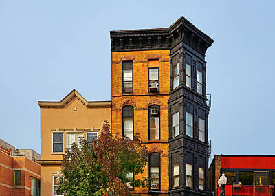 Townhouses Photograph - Living In Chicago Lincoln Park by Christine Till
