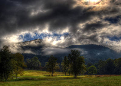 Western North Carolina Photograph - Living In The Clouds Of Western North Carolina by Greg and Chrystal Mimbs