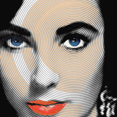 Icon Mixed Media - Liz Taylor by Tony Rubino