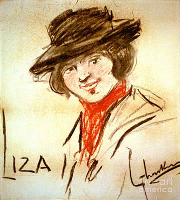 Eliza Photograph - Liza Doolittle 1913 by Padre Art
