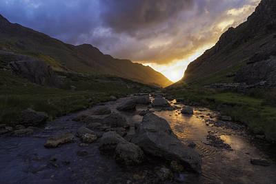 Snowdon Photograph - Llanberis Pass by Ian Mitchell