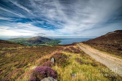 Walkway Digital Art - Llyn Peninsula by Adrian Evans