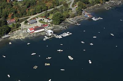 Lobster Boats, Bremen, Maine Print by Dave Cleaveland