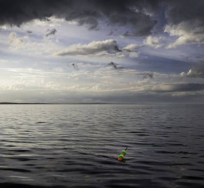 Maine Landscape Photograph - Lobster Buoy  by Susan  Degginger