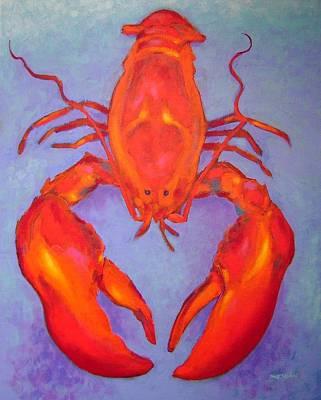 Lobster Print by John  Nolan