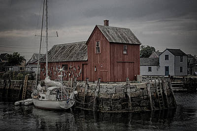 Fishing Shack Photograph - Lobster Shack - Rockport by Stephen Stookey