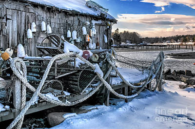 Mid-coast Maine Photograph - Lobster Shack At Cape Neddick  by Thomas Schoeller