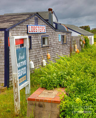 Landscape Photograph - Lobsters On The Cape by Michelle Wiarda