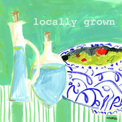 Locally Grown Print by Pamela J. Wingard