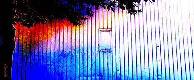 Location 54 North  A Shed Full Of Surprises Print by Sir Josef - Social Critic - ART
