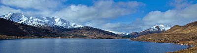 Scotland Photograph - Loch Cluanie And Glen Shiel by David Peat