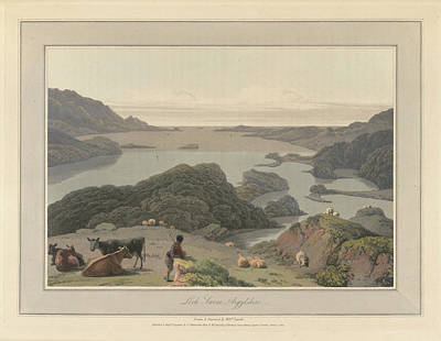 Loch Inrene In Argyllshire Print by British Library