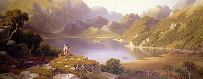 Fennel Painting - Loch Katrine by George Fennel Robson