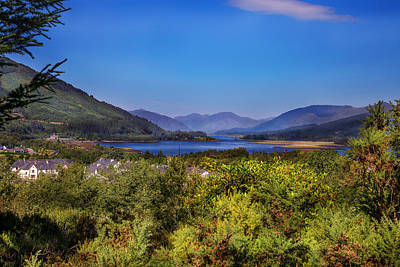 Loch Leven From Glencoe Print by Niall McWilliam