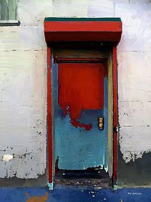 Locked Door, Hell's Kitchen Print by RC deWinter