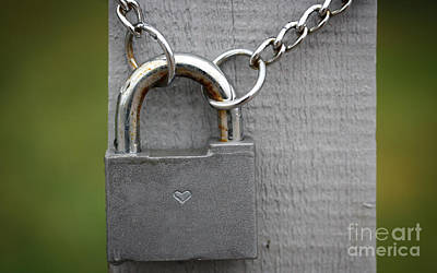 Locked Love Original by Jolanta Meskauskiene