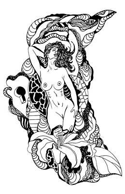 Locked Mystery Print by Kenal Louis
