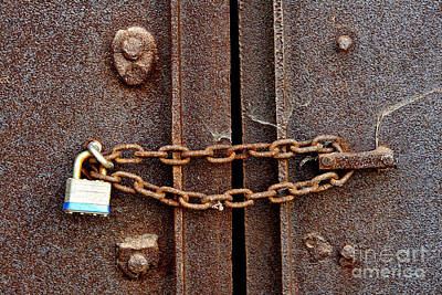 Locked Print by Olivier Le Queinec