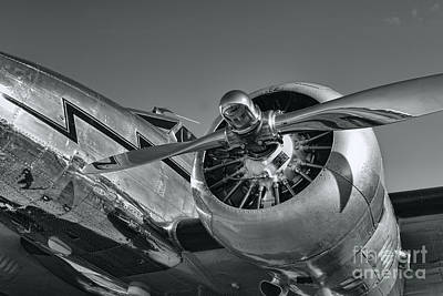 Lockheed 12a Electra Junior  Print by Olga Hamilton