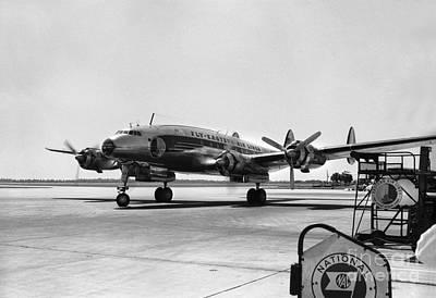 Lockheed Constellation  Eastern Airlines Print by Wernher Krutein
