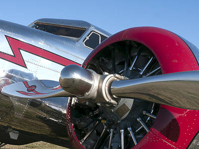 Lockheed Electra Print by Dean Ginther