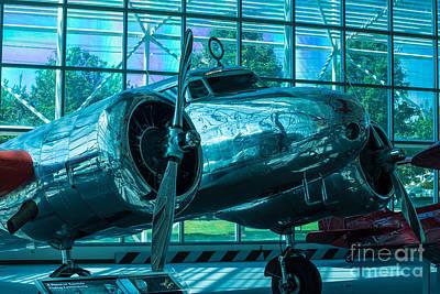 Lockheed Electra Print by Rich Priest