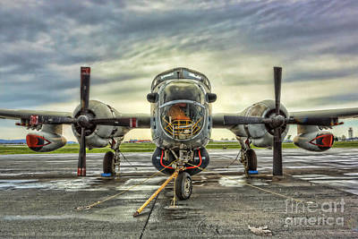 Modern World Photograph - Lockheed P-2 Neptune Gunship by Lee Dos Santos