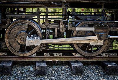 Steam Engine Photograph - Locomotion by Heather Applegate