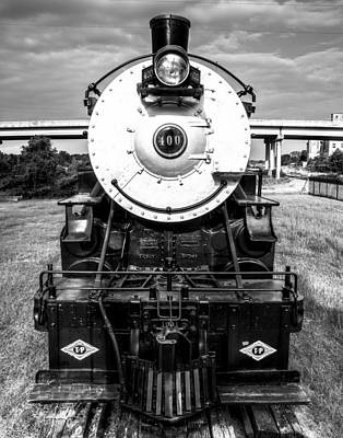 Old Trains Photograph - Locomotive 400 Marshall Texas by Geoff Mckay