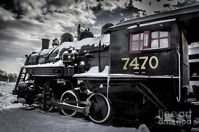 North Conway Photograph - Locomotive by David Rucker