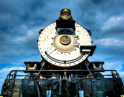 Old Trains Photograph - Locomotive Smile  by Geoff Mckay